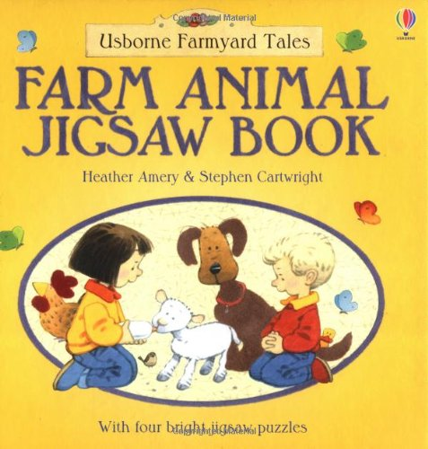 9780746048504: Farmyard Tales Farm Animals Jigsaw Book (Jigsaw Books)