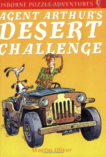 9780746048580: Agent Arthur's Desert Challenge (Puzzle Adventure)