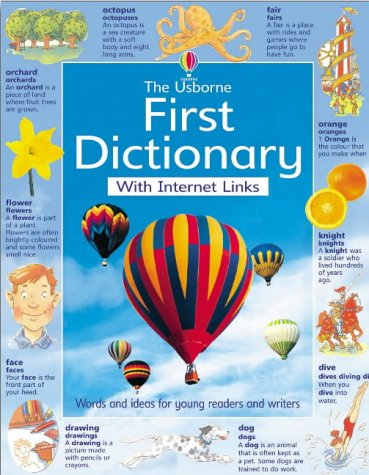 9780746048795: Internet First Dictionary (Usborne Dictionaries)
