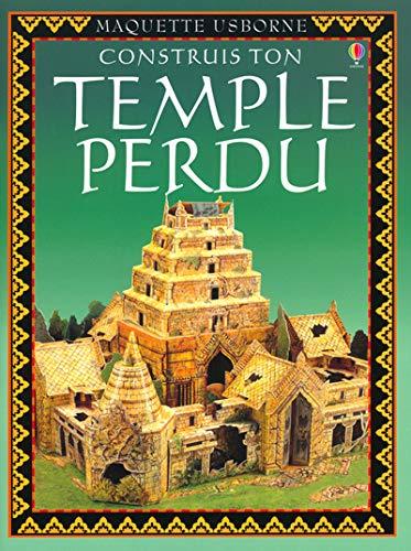 9780746049648: Construis ton temple perdu (Maquette usborne)