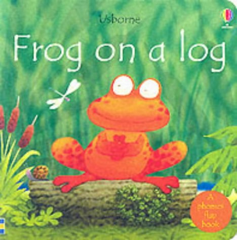 9780746051740: Frog on a Log (Usborne Easy Words to Read)