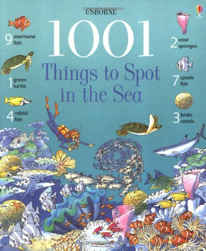 9780746052082: 1001 Things to Spot in the Sea