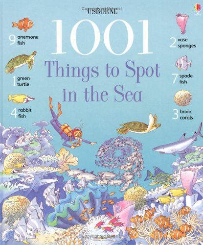 9780746052167: 1001 Things to Spot in the Sea (Usborne 1001 Things to Spot)