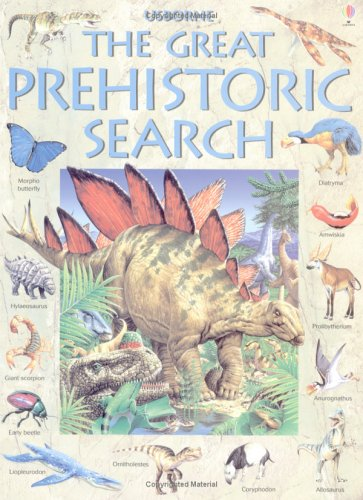 9780746052280: The Great Prehistoric Search (Usborne Great Searches)