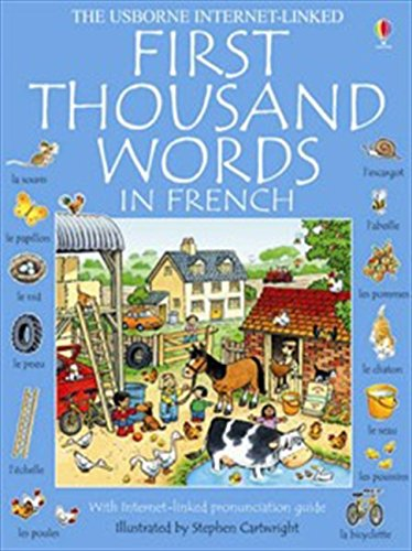 9780746052457: First 1000 Words: French (First Thousand Words Mini)