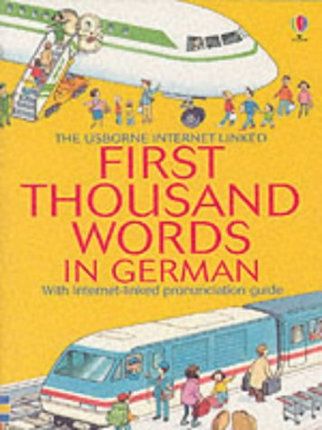 9780746052471: First 1000 Words: German (First Thousand Words Mini)