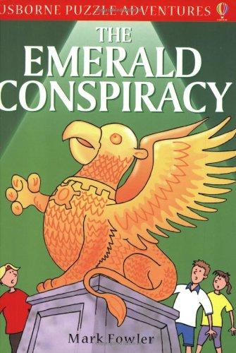 9780746052532: The Emerald Conspiracy (Usborne Puzzle Adventures)