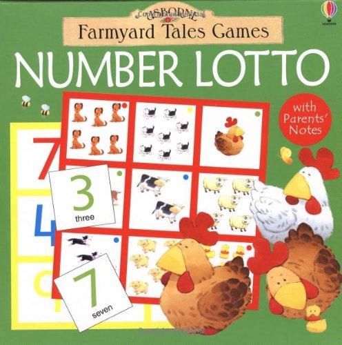 9780746052655: Number Lotto (Farmyard Tales Board Games)