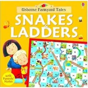 9780746052686: Snakes and Ladders (Farmyard Tales Board Games)