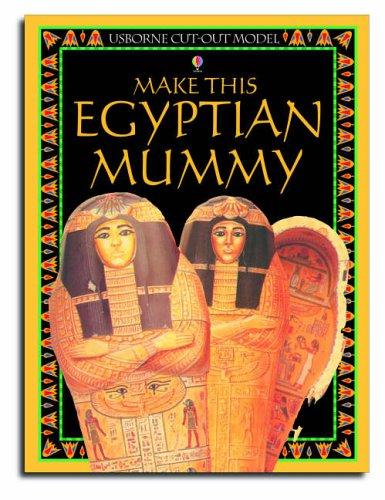 9780746053041: Egyptian Mummy (Usborne Cut Outs)