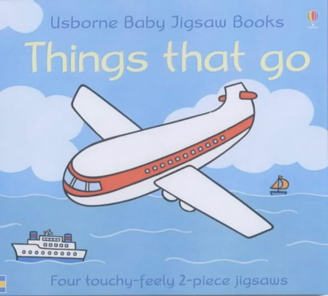 9780746053164: Things That Go (Usborne Touchy Feely Books)