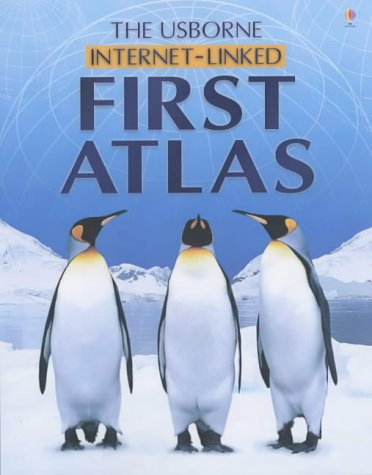 9780746053454: The Usborne Internet-Linked First Atlas