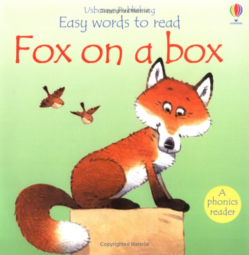 9780746054208: Fox on a Box (Usborne Easy Words to Read)