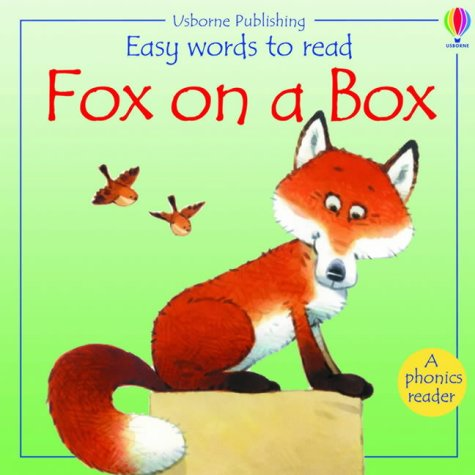 9780746054215: Fox on a Box (Usborne Easy Words to Read)