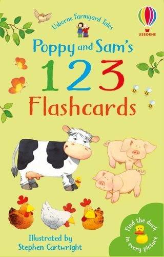 9780746054413: Farmyard Tales Flashcards: 1, 2, 3