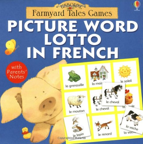 9780746055687: Picture Word Lotto in French (Farmyard Tales Board Games)