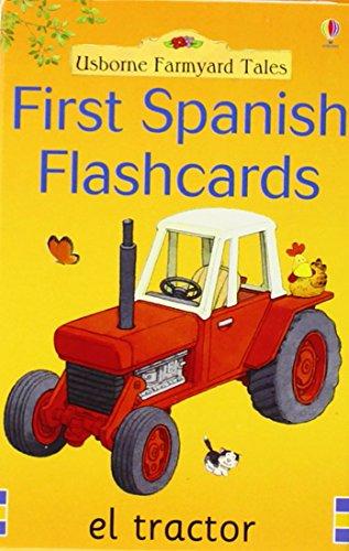 9780746055724: First spanish flashcards