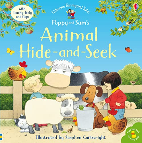9780746055755: Animal Hide and Seek (Farmyard Tales Touchy-feely)