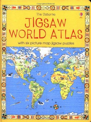 The Usborne Jigsaw World Atlas: King, Colin