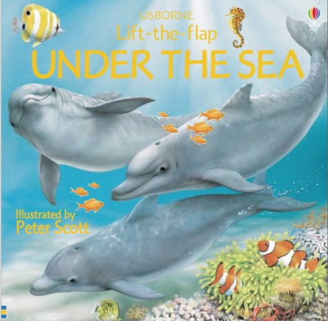 9780746055823: Under the Sea (Flap books)