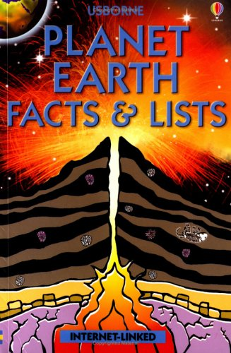 9780746056332: Planet Earth Facts and Lists (Usborne Facts & Lists)