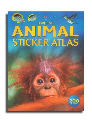 9780746056769: Sticker Atlas Animals