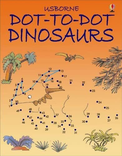 9780746057148: Dot-to-dot Dinosaurs (Usborne Dot-to-dot)