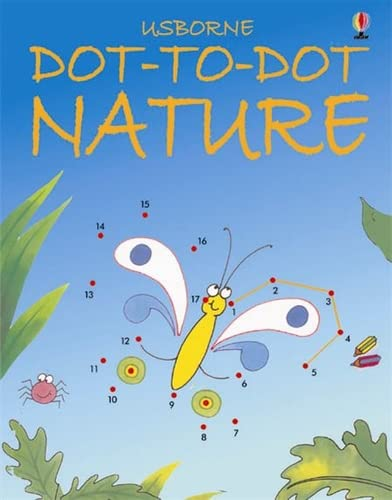 9780746057162: Dot-to-Dot Nature (Usborne Dot-to-dot)