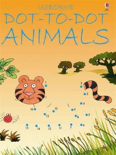 9780746057209: Dot-to-Dot Animals (Usborne Dot-to-dot)