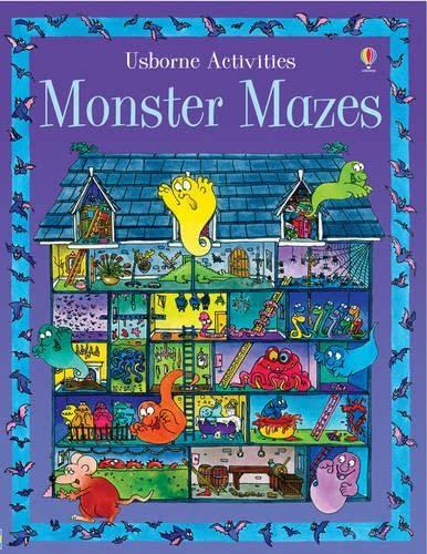 9780746057346: Monster Mazes (Activity Books)