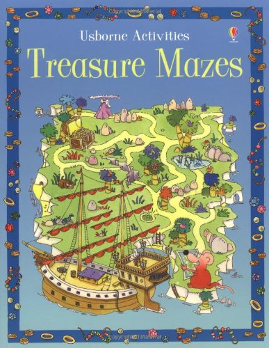 9780746057353: Treasure Mazes (Activity Books)