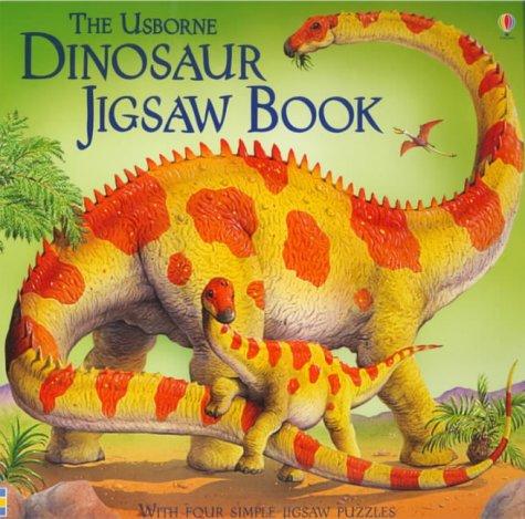 9780746057469: Dinosaur Jigsaw Book (Usborne Jigsaw Books)