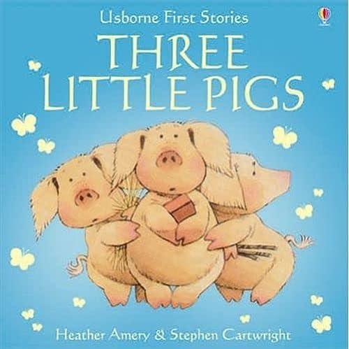 9780746058398: 3 Little Pigs (First Stories)