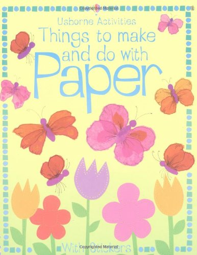 9780746058503: Things to Make and Do with Paper (Usborne Activities)
