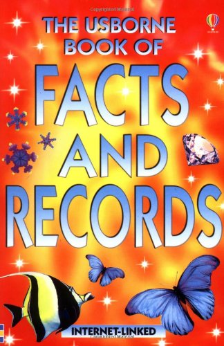 9780746058558: Usborne Book of Facts and Records
