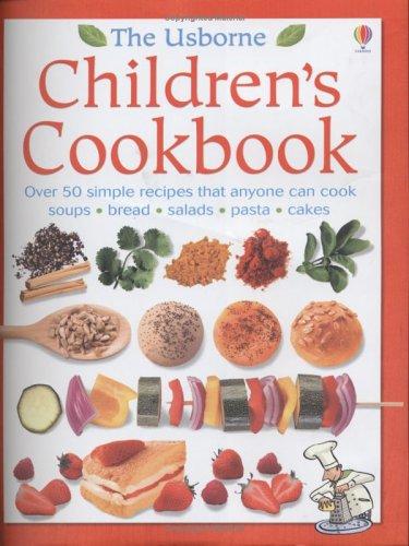 9780746058589: The Usborne Children's Cookbook