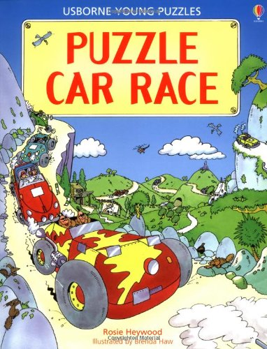 Puzzle Car Race (Usborne Young Puzzles): Heywood, R.