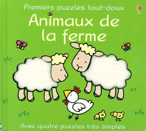 9780746060766: Animaux de la ferme (Premiers puzzles tout-doux)