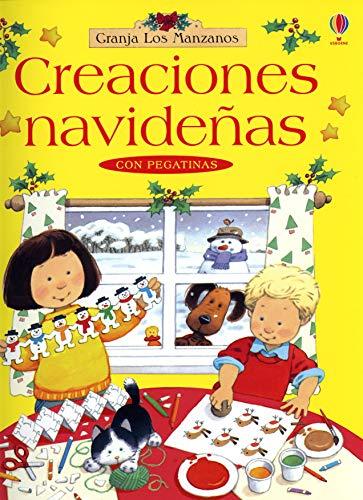 Creaciones navideñas (con pegatinas): Milbourne, Anna
