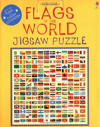 9780746061299: Flags of the World Boxed Jigsaw (Usborne Jigsaws)