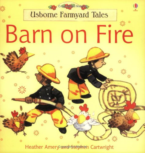 9780746062111: Barn On Fire (Farmyard Tales Minibook Series)