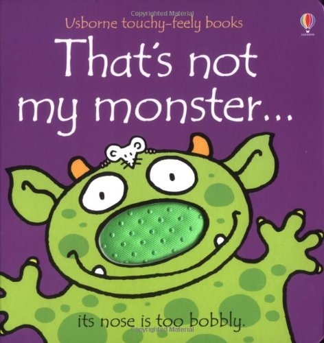 9780746062616: That's Not My Monster...(Usborne Touchy-Feely Books)