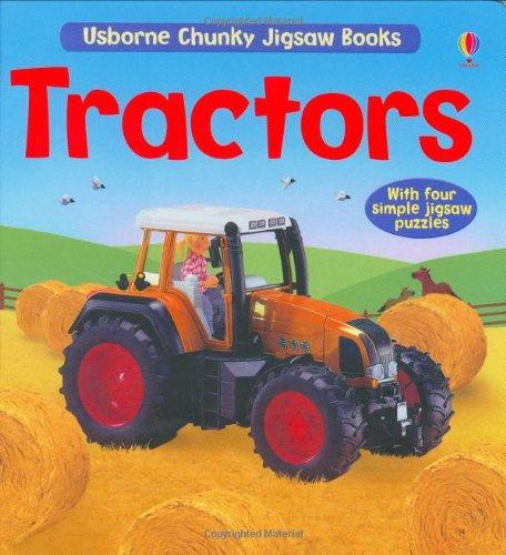 Tractors Jigsaw Book (Chunky Jigsaws): Brooks, F.