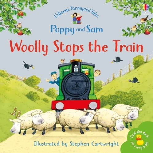 9780746063064: Woolly Stops The Train... (Farmyard Tales Minibook Series)