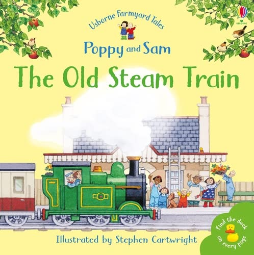 9780746063101: Old Steam Train (Mini Farmyard Tales)