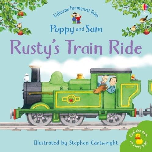 9780746063125: Rusty's Train Ride (Mini Farmyard Tales)