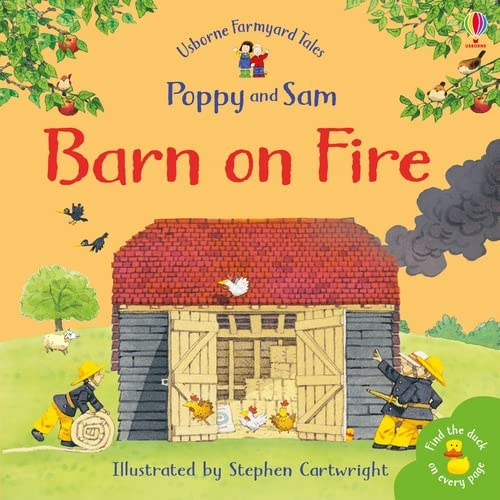 9780746063200: Barn On Fire (Farmyard Tales Minibook Series)