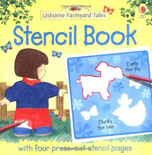 9780746063361: Farmyard Tales Stencil Book