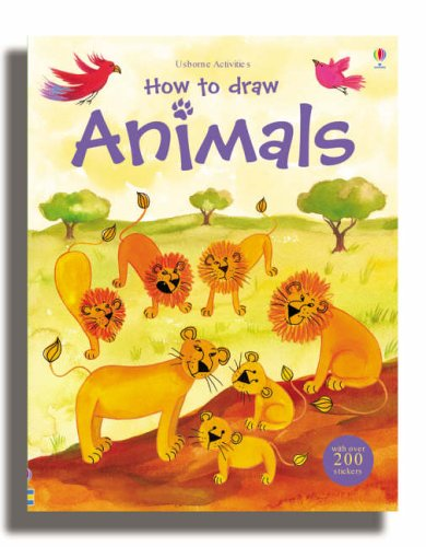 9780746063644: How to Draw Animals (Usborne Activities)
