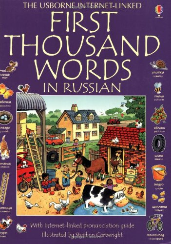 9780746064764: First 1000 Words In Russian (First Thousand Words)
